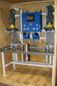 An image of our double mixer machine